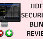 HDFC Securities Blink Review