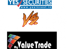 Yes Securities Vs My Value Trade