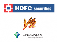 FundsIndia Vs HDFC Securities