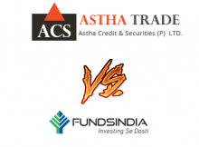 FundsIndia Vs Astha Trade