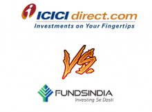 FundsIndia Vs ICICI Direct