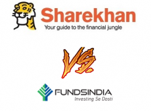 FundsIndia Vs Sharekhan